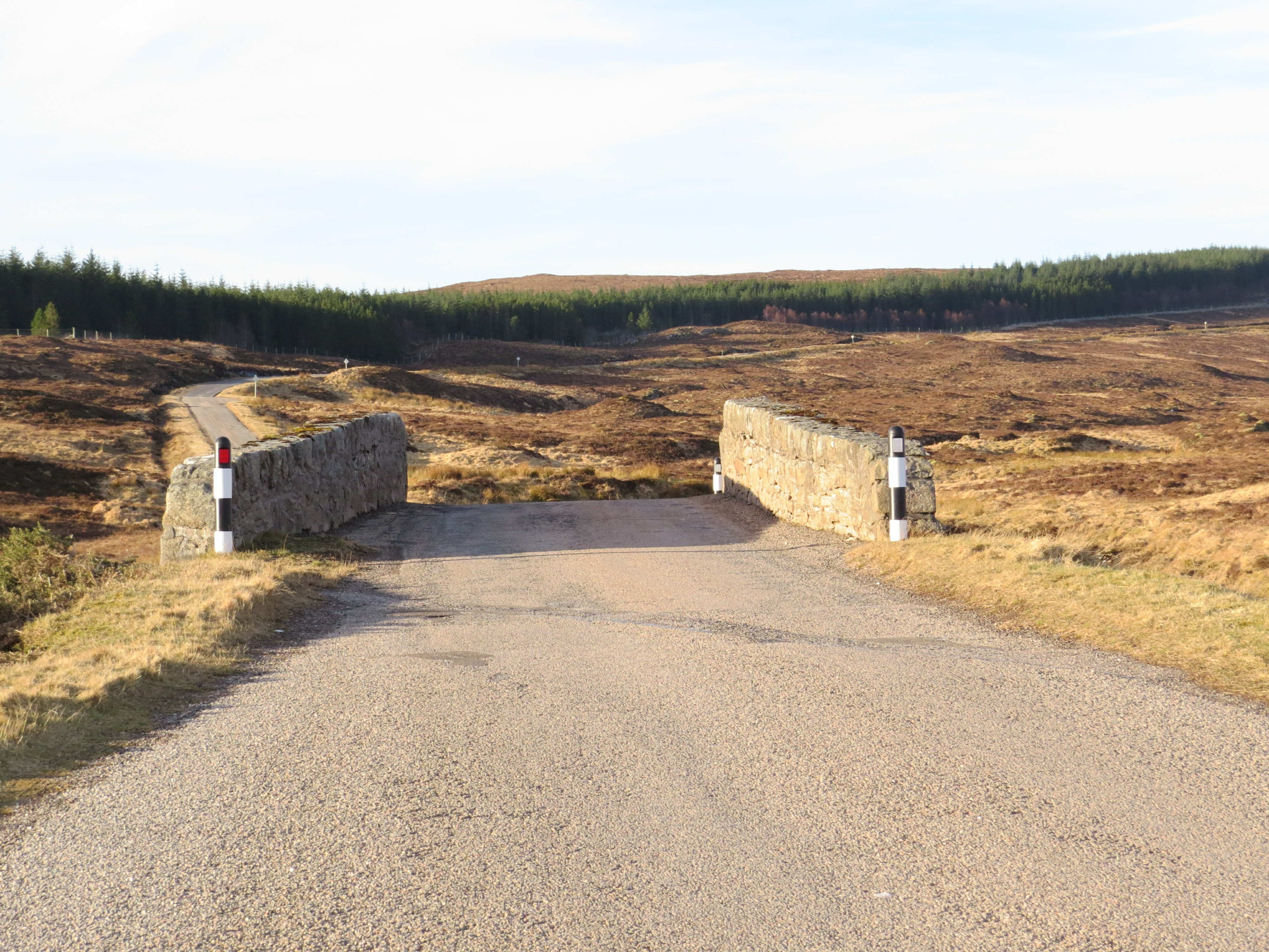 Hump Back Bridge just before/after the Crask Inn