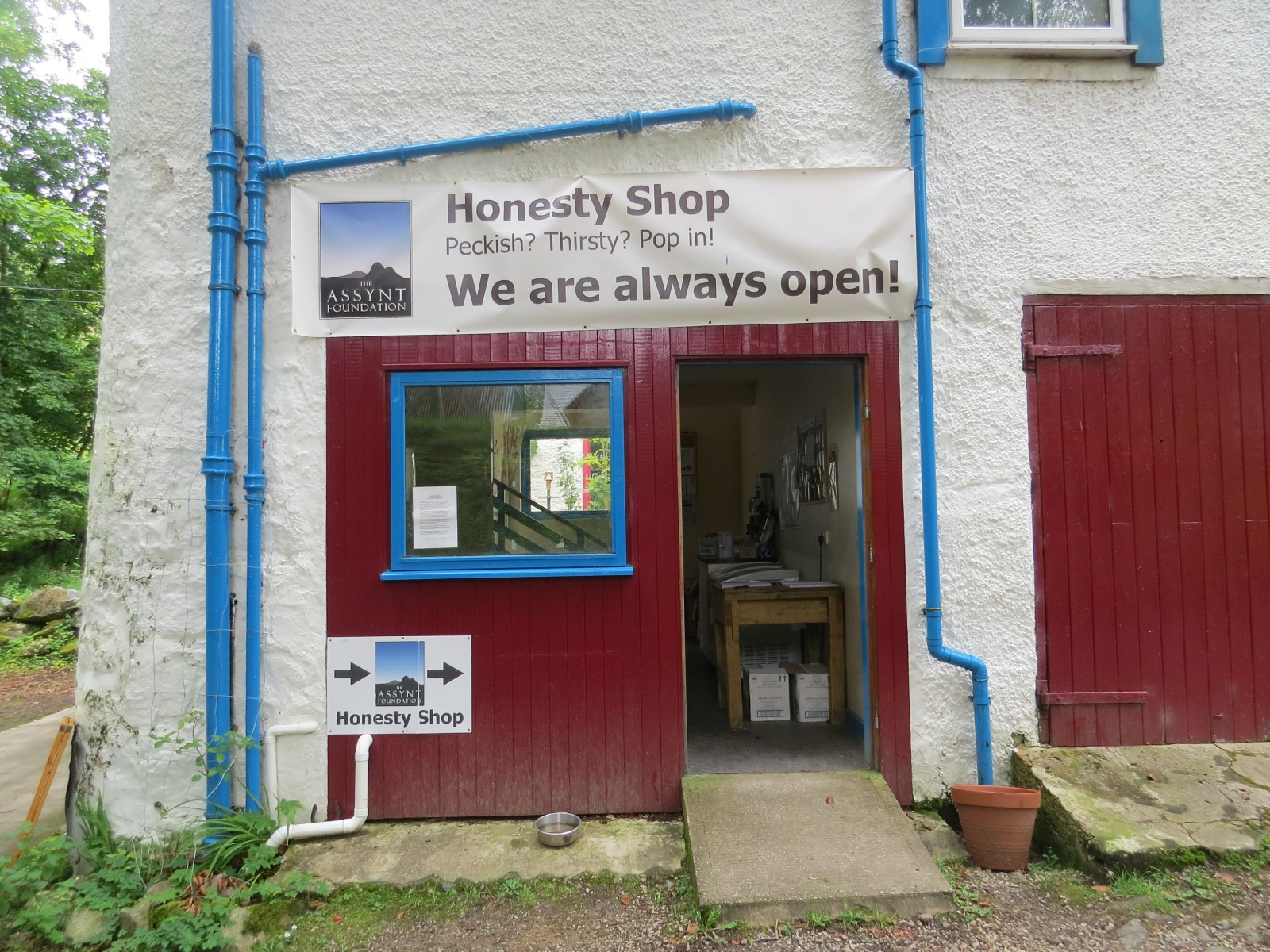 Honesty Shop, Assynt Foundation