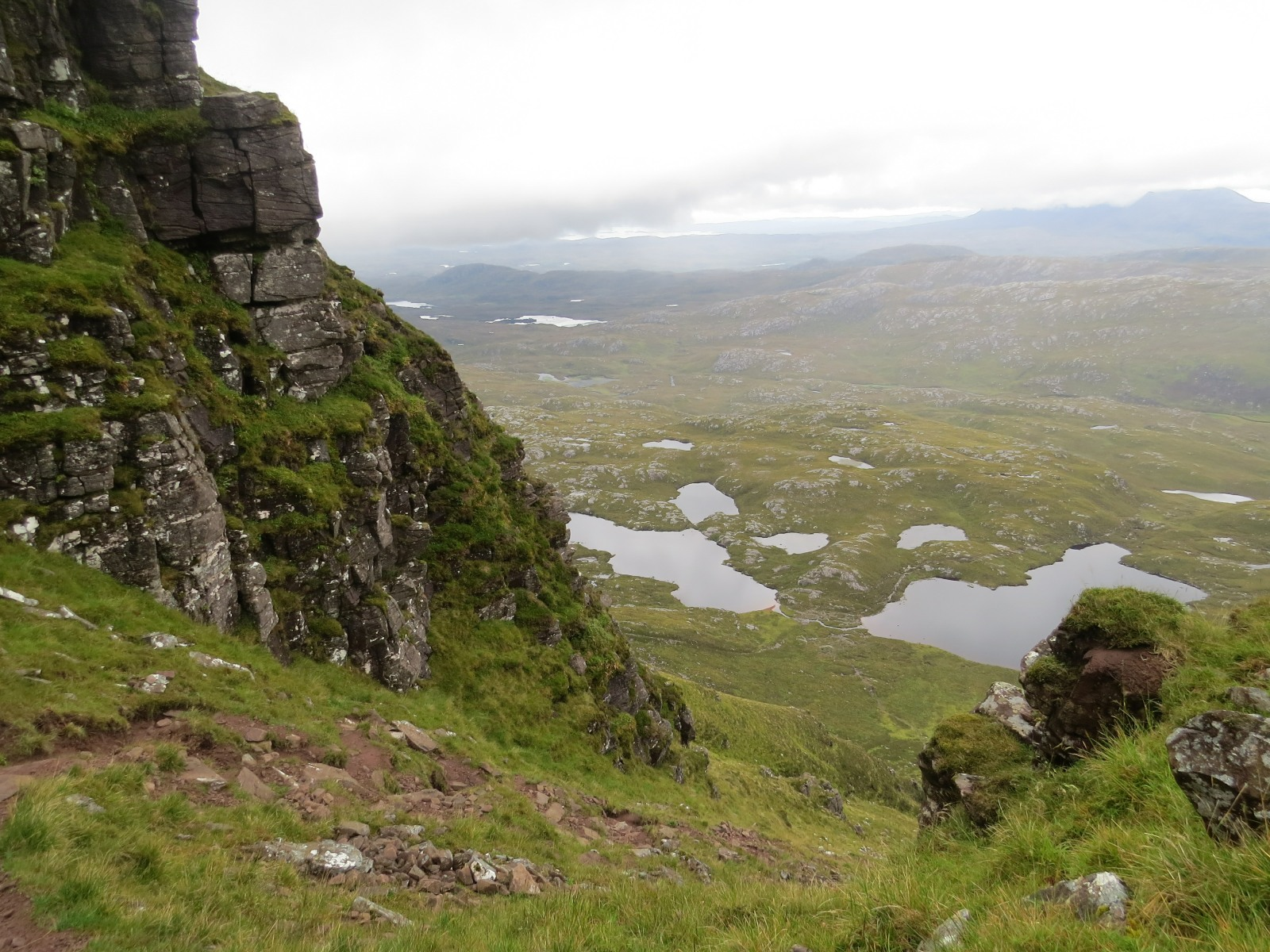 View from the ridge on Suilven